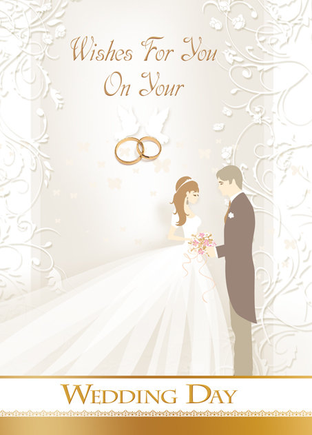 Wedding Day Card B6L