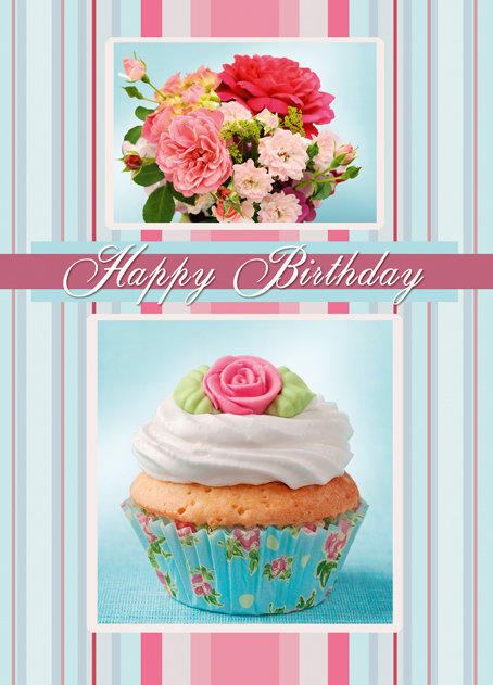 Happy Birthday Card B6L