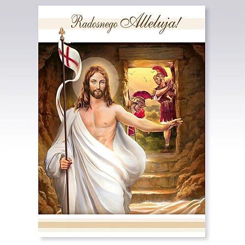 Kartka Wielkanocna Religijna B6