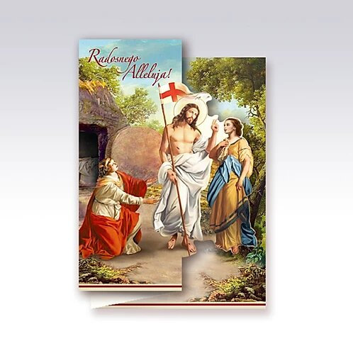 Religious Easter Card B6W