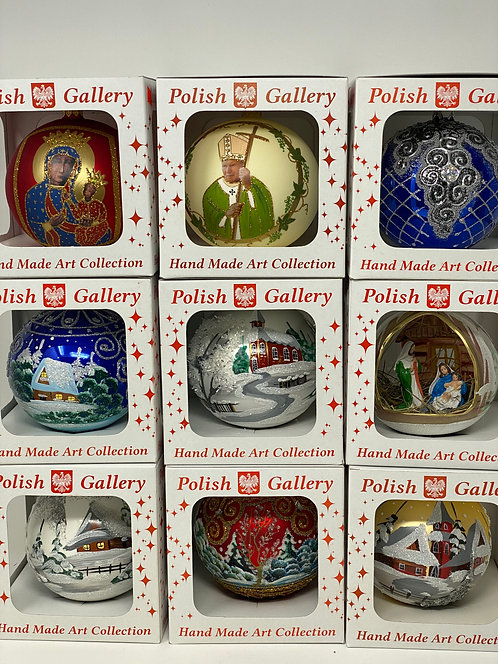 Polish Christmas Ornaments 4.72 in (120mm)
