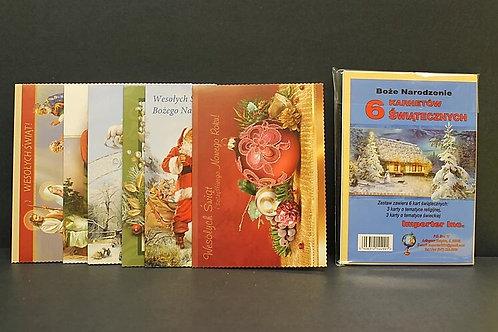 Set Mix Kartek Na Boze Narodzenie