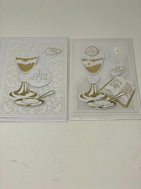 First Communion Card Karnet A5 Index 5413