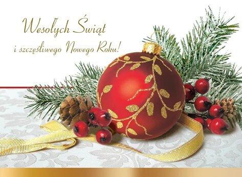 Secular Christmas Card B6