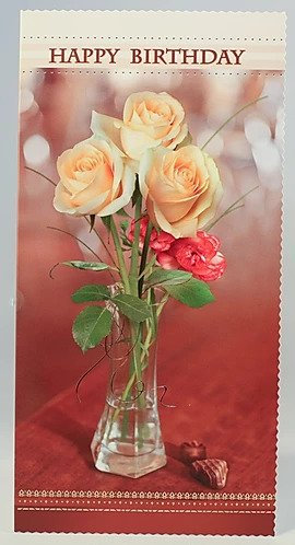 Happy Birthday Card DL