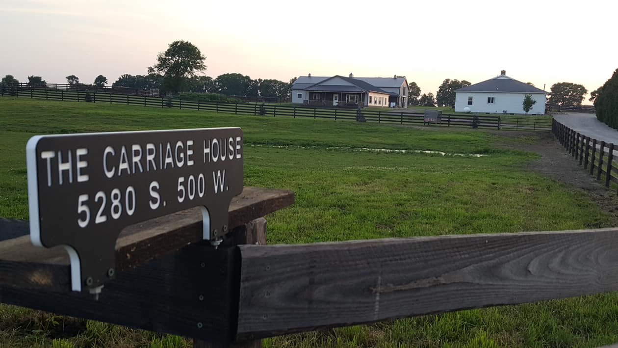 Carriage House and Sign
