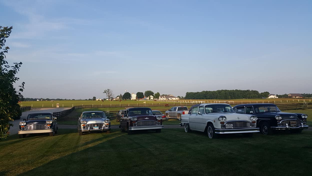 Cars at Carriage House