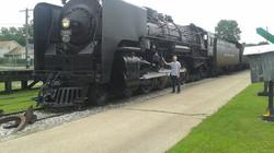 Jim and Train