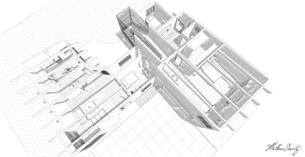 Bird's eye view (roof-removed)