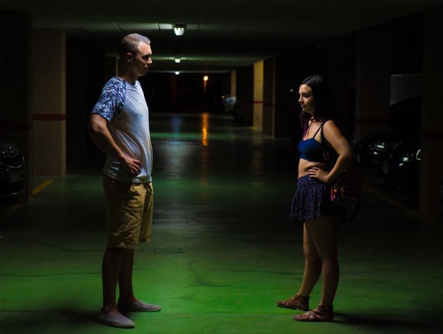 Chris and Marina in car park.jpg