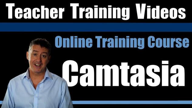 Teacher Training Videos - Camtasia Online Training Course Ad