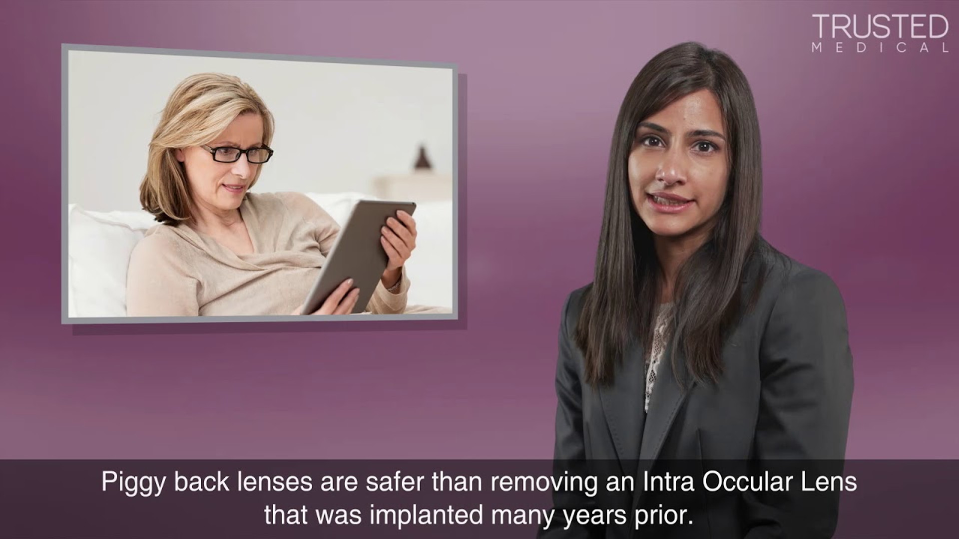 What are piggyback lenses and who is suitable for them?