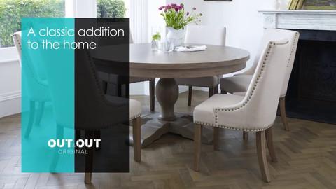Balmoral Round Table Set Advert