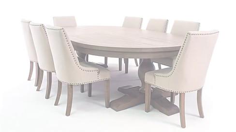 Balmoral Oval Table set advert