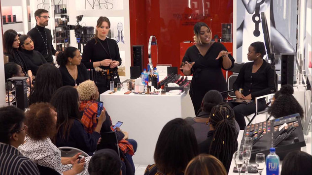 Brownbeauytalk Makeup Masterclass with NARS