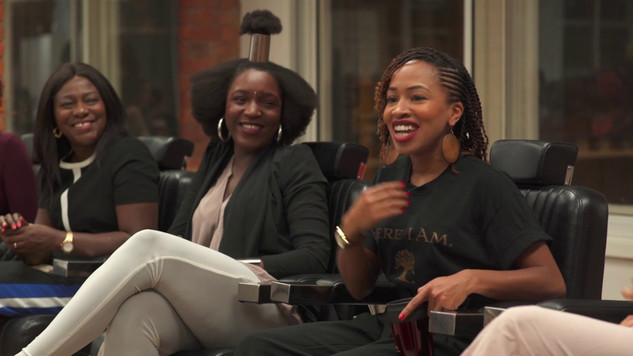 Brownbeautytalk Natural Hair Masterclass with ASIAM Naturally