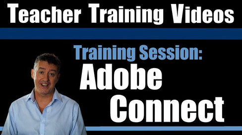 Teacher Training Videos - Adobe Connect Training Sessions Ad