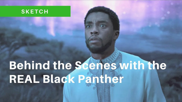 Black Panther in Real Life - Living in Brixton