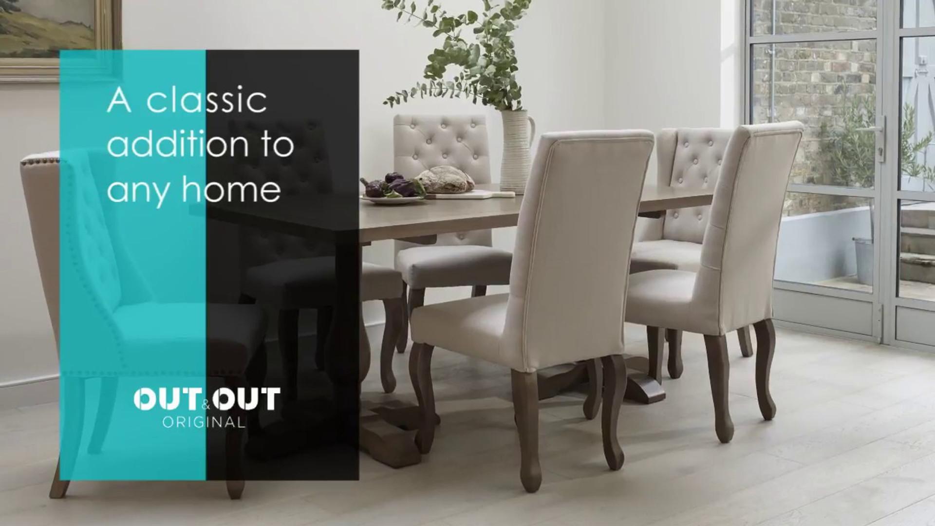 Balmoral Rectangular 180cm Table Set Advert