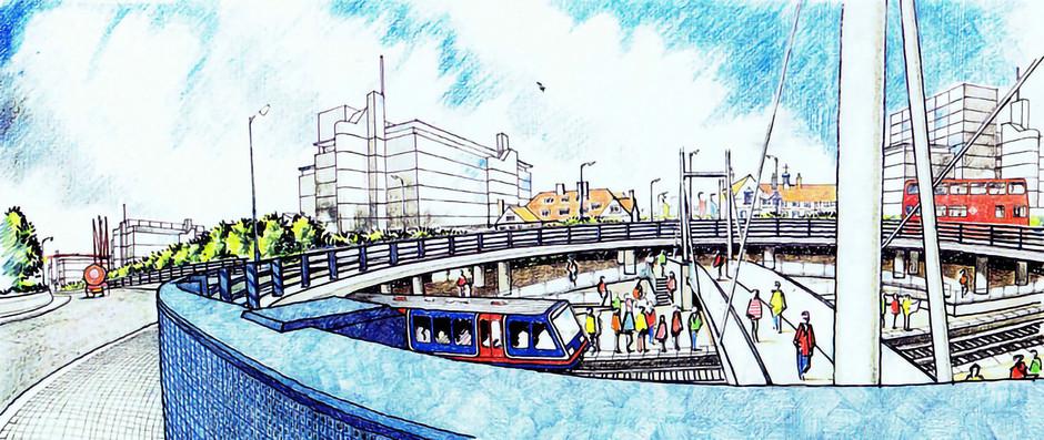 DLR station illustration