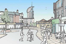Proposed development and streetscape environmental improvements 2
