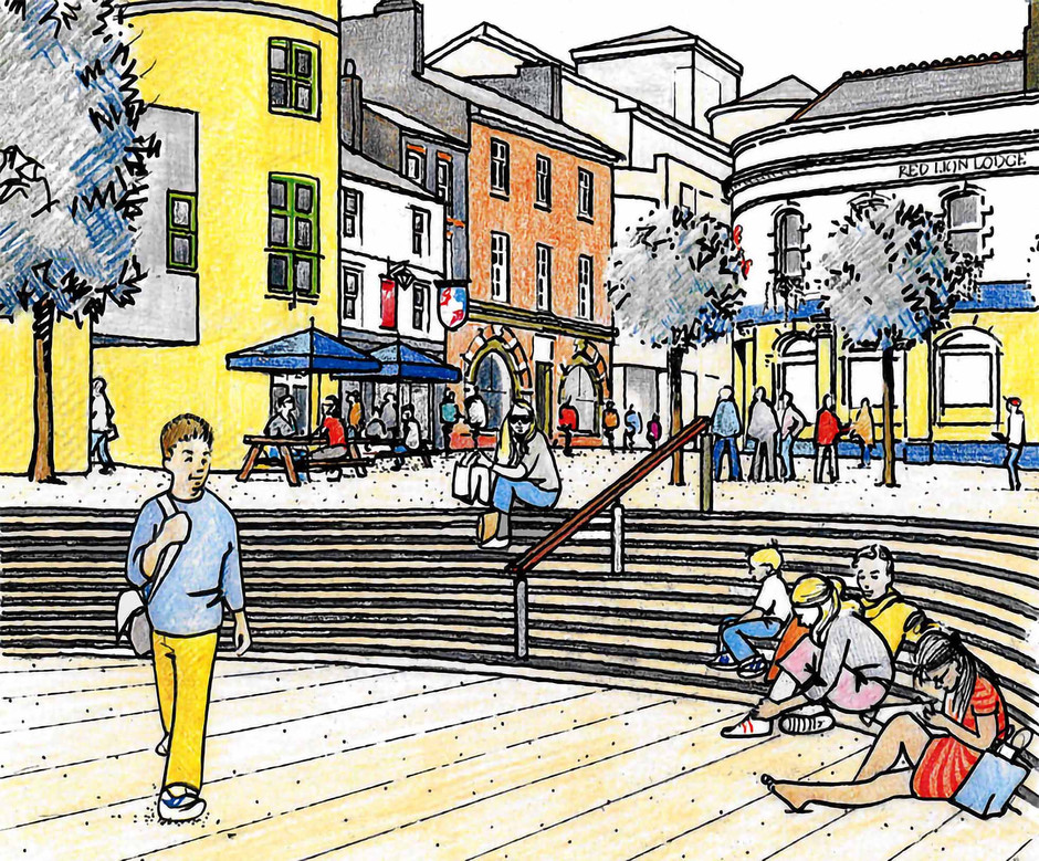 Proposed town centre illustration 1