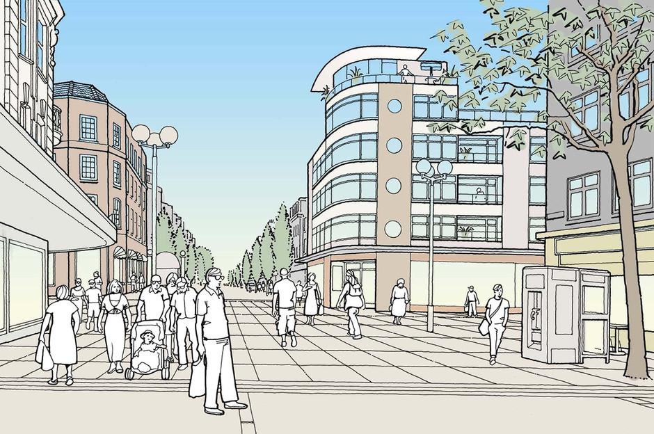 Proposed residential development illustration 1