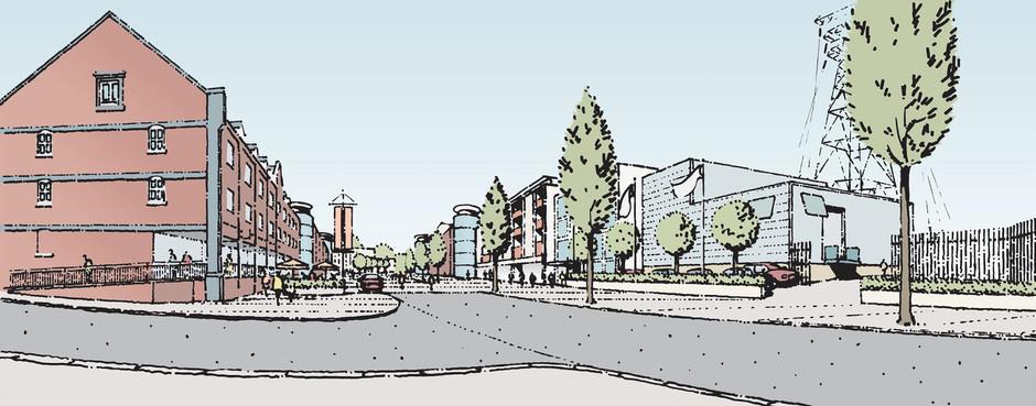 Illustration of Colne Harbour, Essex