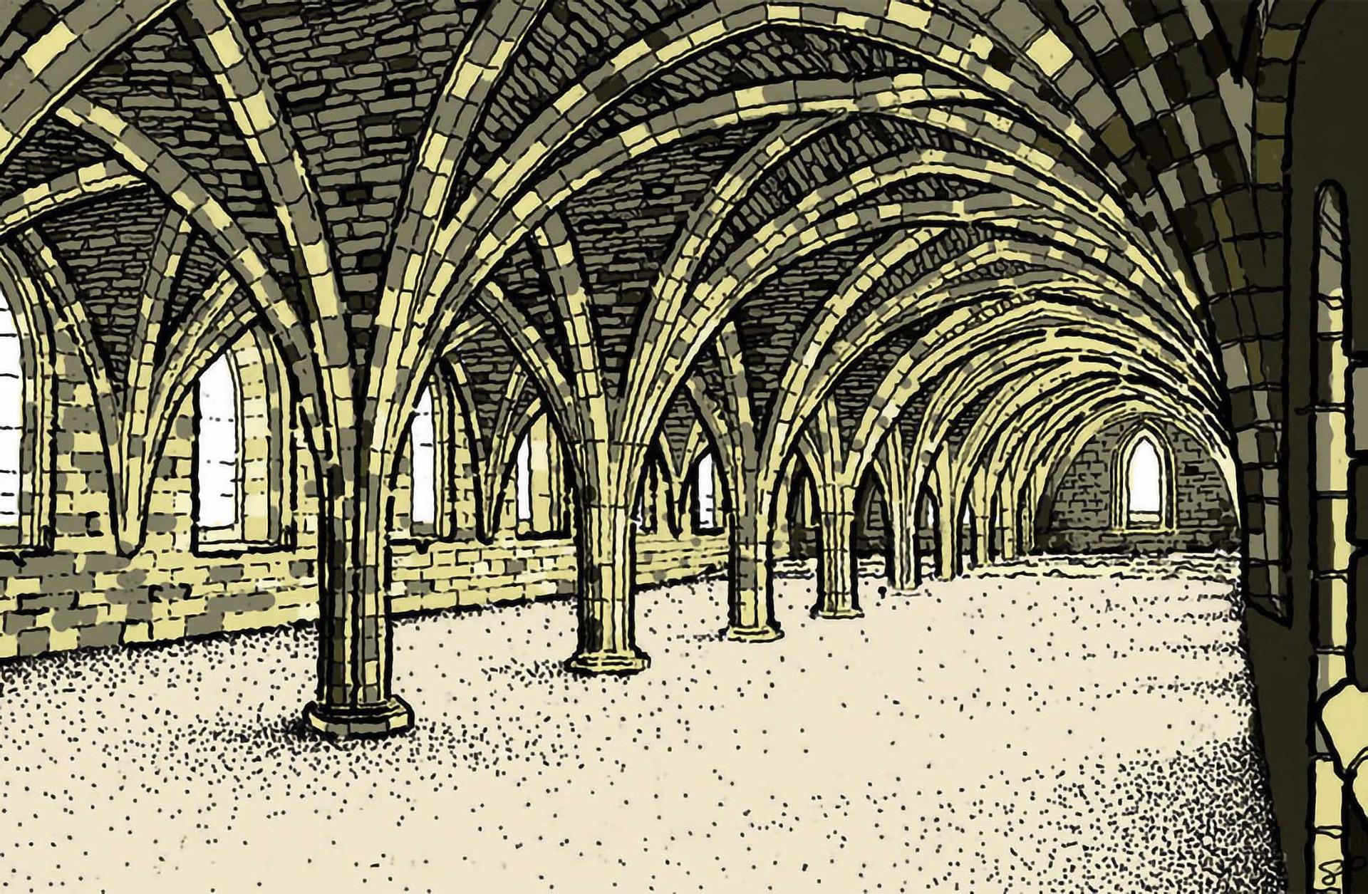 The Cellarium Illustration