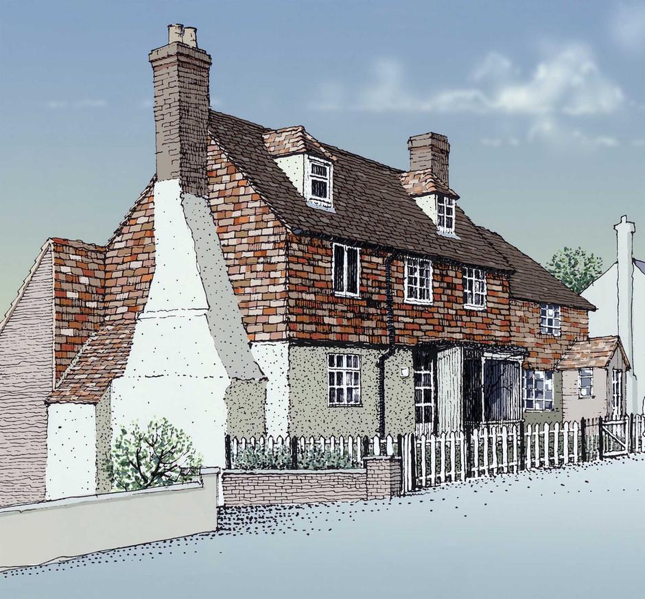 Kent House Illustration