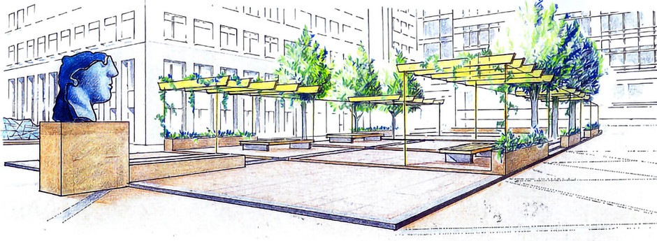 Canary Wharf Speculative enhancement proposal