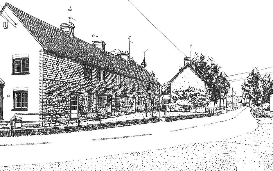 Calverton House Illustration