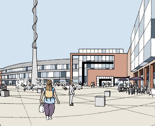 Cranbrook High Street, Sketch 1