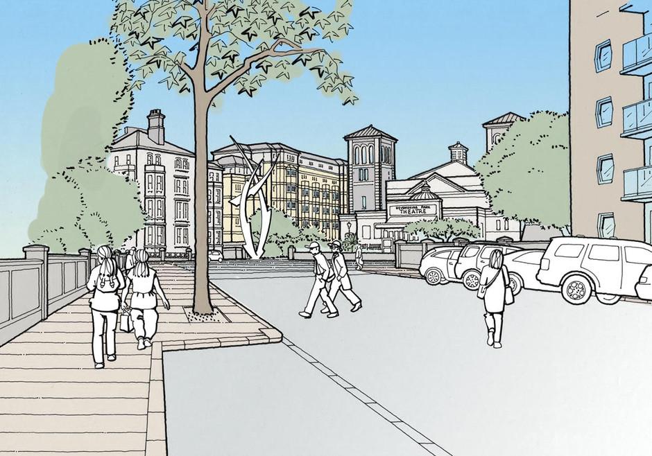 Proposed residential development illustration 2