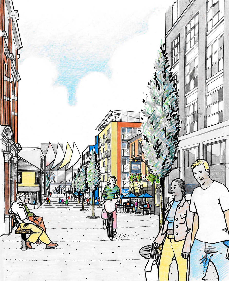 Proposed town centre illustration 3