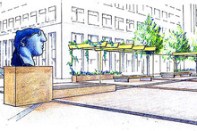 Speculative enhancement proposal for an existing public square