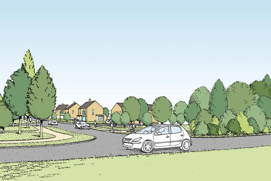 Proposed housing illustration