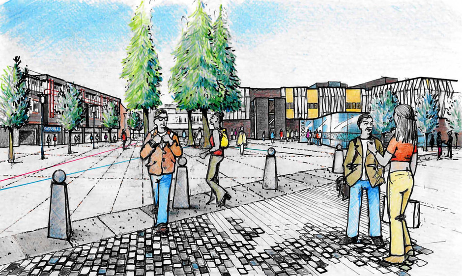 Proposed town centre illustration 2