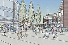 City Centre proposed shopping precinct