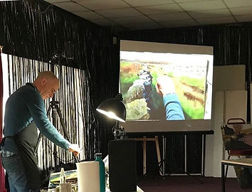 Paul Talbot-Greaves demonstration