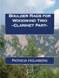 Boulder Rags for WW trio clarinet part 1