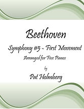 Beethoven 5th Symphony 1st mvmt for 5 pi