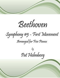 Beethoven 5th Symphony 1st mvmt for 5 pi