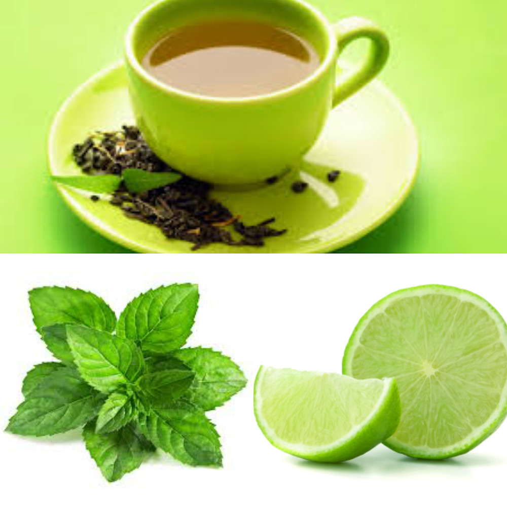 Grent tea, Lime, Mint