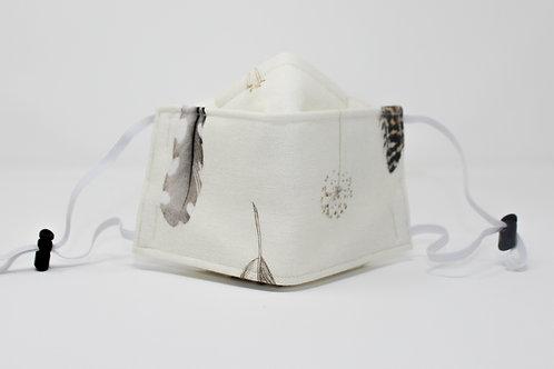 Feather Origami Washable Face Mask