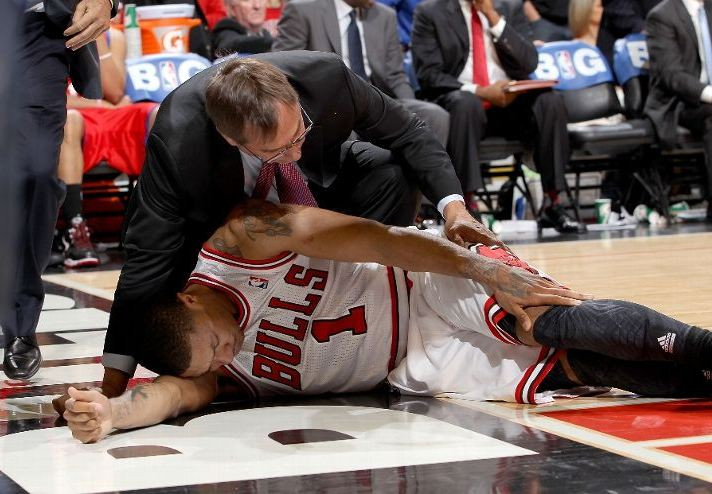 Derick Rose injury