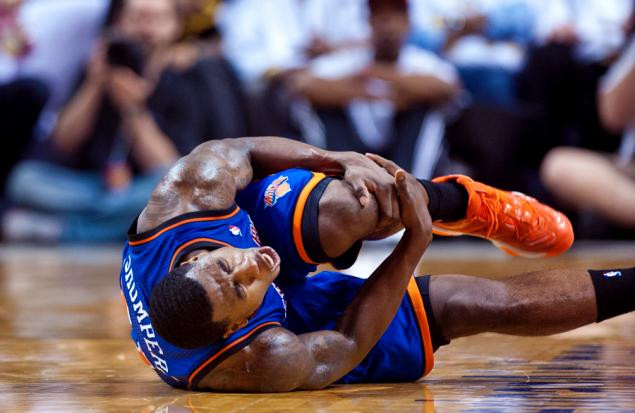 Iman Shumpert injury