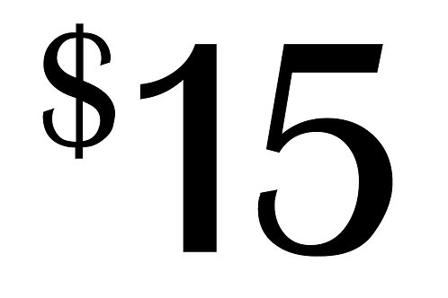 $15 contribution towards a gift
