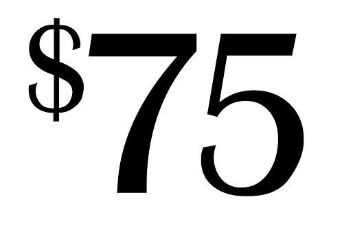 $75 = 3 nurses gifts