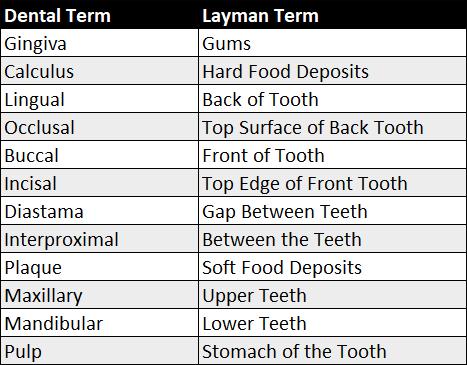 Dental-words-vs-layman1 - August 16 2020